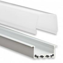 PN5 Atik C2 Profilo Alluminio 2m + Copertura Opale