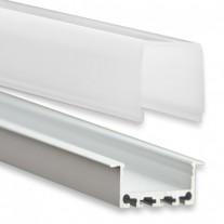 PN5  Regor C3 Profilo Alluminio 2m + Copertura Opale