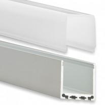 PN6 Gianfar C3 Profilo Alluminio 2m + Copertura Opale