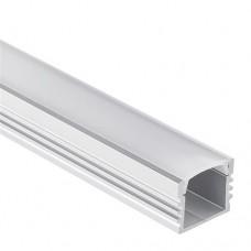 Profilo PL2 ARRAKIS in alluminio per Strisce LED 1m/2m + Copertura Opale/Trasparente