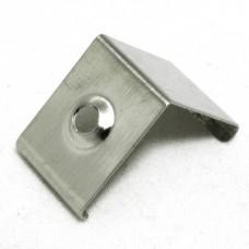 Clip Supporto di montaggio  acciaio inox per profili P23 Pollux