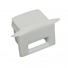 Tappo laterale terminale  per Profili PL 3 Glanfar - Con foro per cavo