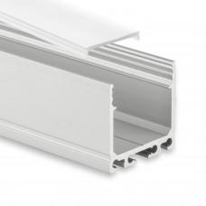 PN6  Agena C1 Profilo Alluminio 2m + Copertura Opale