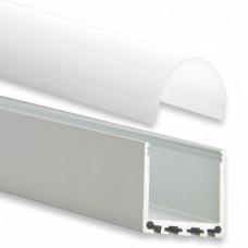 PN6 Nunki C4 Profilo Alluminio 2m + Copertura Opale