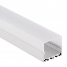 PN4 Kuma C2 Profilo Alluminio per Strisce LED 2m + Copertura Opale