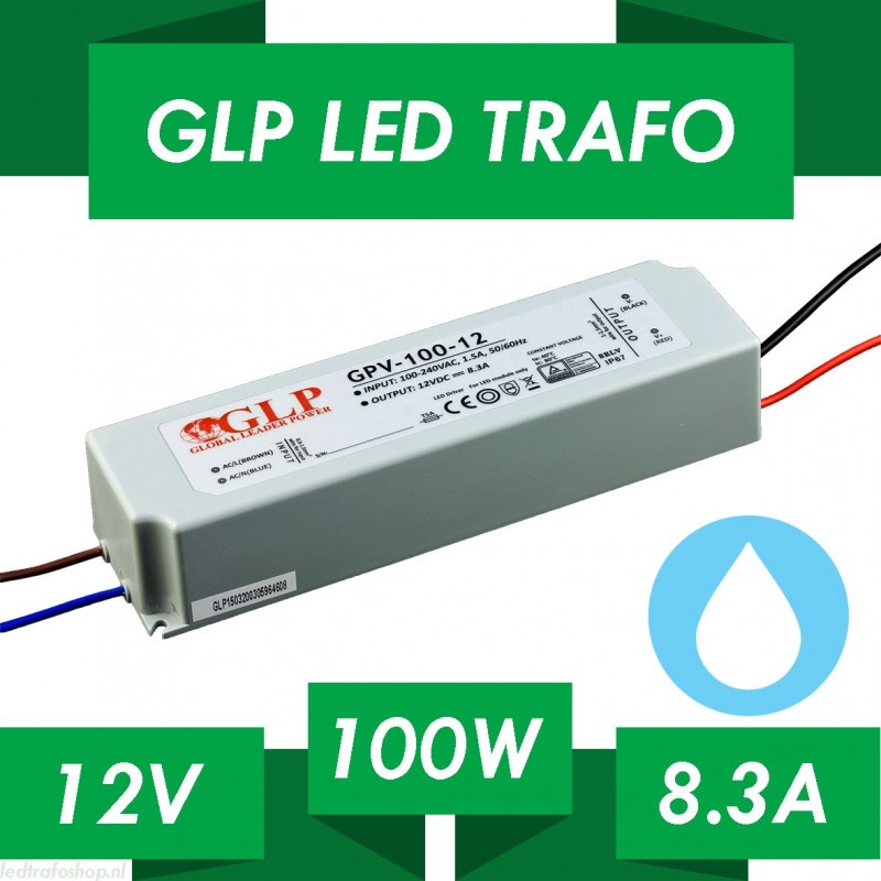 Trasformatore per luci led 12v 120 w per interni for Luci led interni